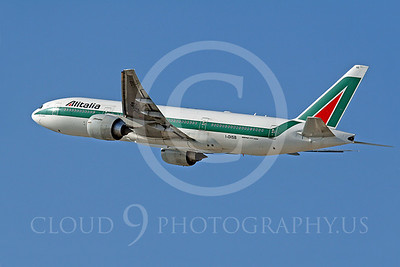 B777 00114 Boeing 777-200 Alitalia Airline I-DISB by Tim Wagenknecht
