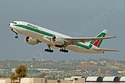 B777P 00040 Boeing 777 Alitalia Airline I-DISU by Tim Wagenknecht