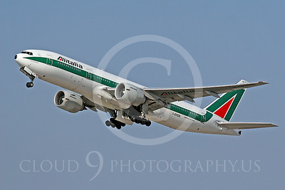 B777 00026 Boeing 777-2-- Alitalia Airline I-DISB by Tim Wagenknecht