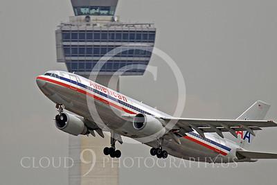 A300 00002 Airbus A300 American N77080 by Peter J Mancus
