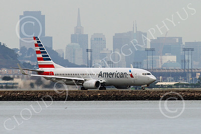 Boeing 737 00203 An American Airline Boeing 737 taxis for take-off at SFO 12-2014 airliner picture by Peter J Mancus