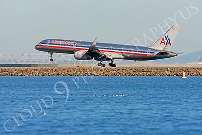 B757 00194 Boeing 757 American N552AA by Peter J Mancus
