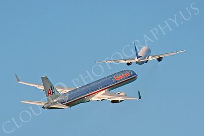 B757 00210 Boeing 757 American N552AA by Peter J Mancus