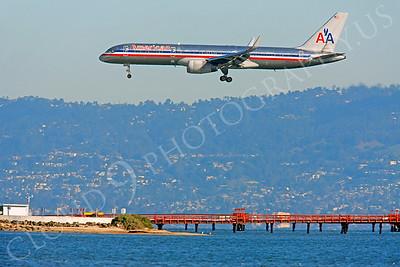 B757 00074 Boeing 757 American N552AA by Peter J Mancus