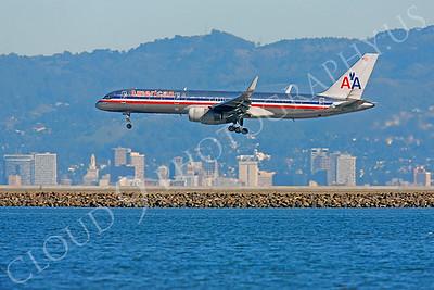 B757 00166 Boeing 757 American N552AA by Peter J Mancus