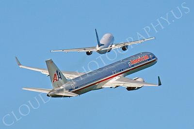 B757 00350 Boeing 757 American N552AA by Peter J Mancus