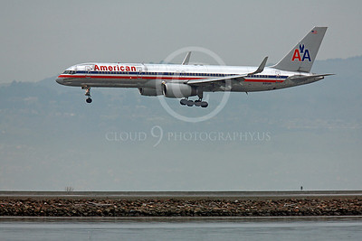 B757 00196 Boeing 757 American N195AN by Peter J Mancus
