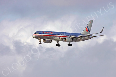 B757 00250 American Airline by Peter J Mancus