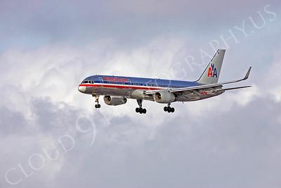 B757 00250 American Airline by Peter J Mancus