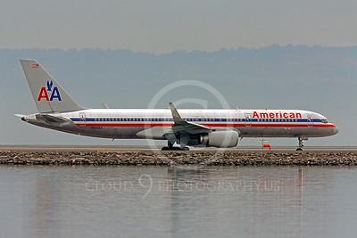 B757 00351 Boeing 757 American N609AA by Peter J Mancus
