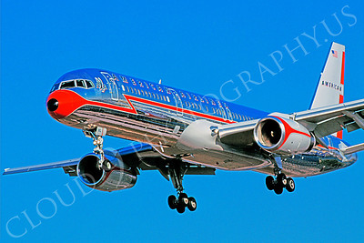 B757 00098 Boeing 757 American March 1999 by Peter J Mancus