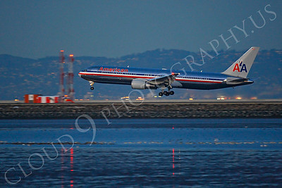 B767 00374 Boeing 767 American by Peter J Mancus