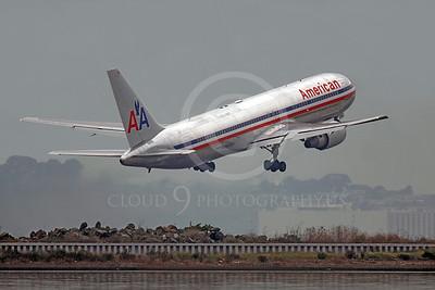B767 00352 Boeing 767 American N343AN by Peter J Mancus