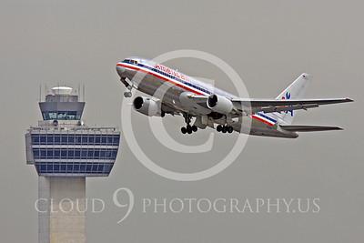 B767 00288 Boeing 767 American N395AN by Peter J Mancus