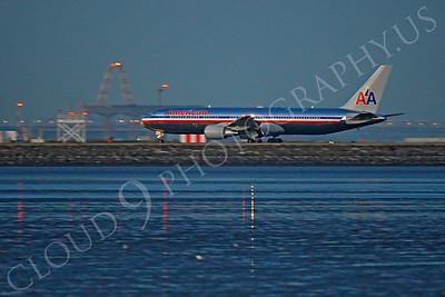 B767 00416 Boeing 767 American by Peter J Mancus