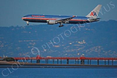 B767 00228 Boeing 767 American by Peter J Mancus