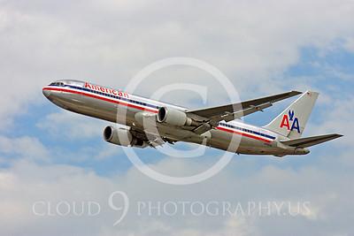 B767 00500 Boeing 767 American N395AN by Peter J Mancus