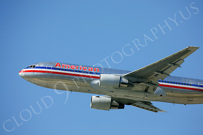 CUNALPJ 00116 Boeing 767 American Airline by Peter J Mancus