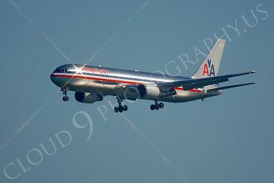 B767 00196 Boeing 767 American by Peter J Mancus