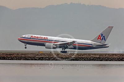 B767 00133 Boeing 767 American by Peter J Mancus