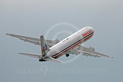 B767 00332 Boeing 767 American by Peter J Mancus