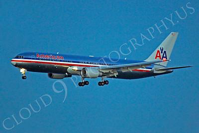 B767 00354 Boeing 767 American by Peter J Mancus