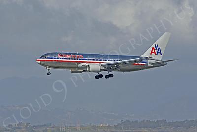 B767 00012 Boeing 767 American Airline N327AA by Peter J Mancus