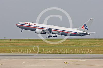 B767 00194 Boeing 767 American N350AN by Peter J Mancus