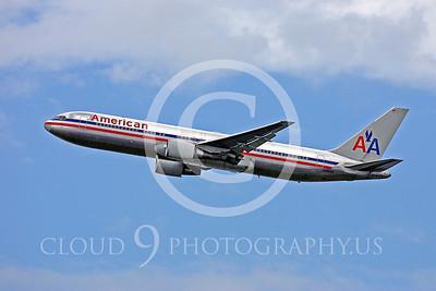 B767 00146 Boeing 767 American N342AN by Peter J Mancus