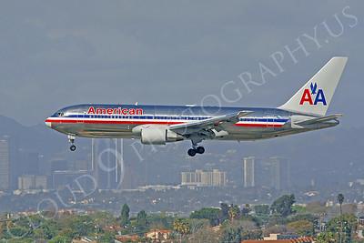 B767 00066 Boeing 767 American Airline N327AA by Peter J Mancus