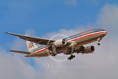 B777 00030 Boeing 777 American 19 October 2003 by Stephen W D Wolf