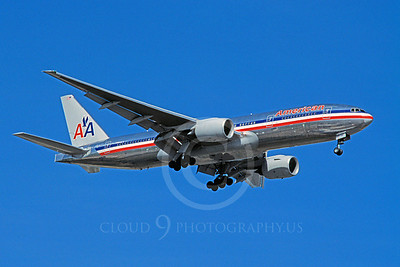 B777 00122 Boeing 777 American N793AN July 2004 by Stephen W D Wolf