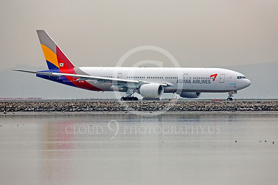 B777 00199 Boeing 777 Asiana HL7756 by Peter J Mancus