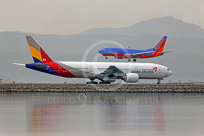 B777 00123 Boeing 777 Asiana HL7756 by Peter J Mancus