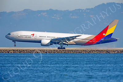 B777 00193 Boeing 777 Asiana HL7500 Kumho Asiana Group by Peter J Mancus