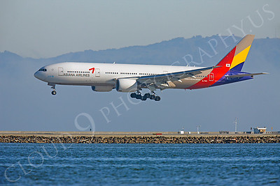 B777 00060 Boeing 777 Asiana HL7500 Kumho Asiana Group by Peter J Mancus