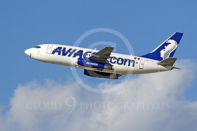 B737 00404 Boeing 737 Aviacsa Airline XA-TYI by Tim Wagenknecht