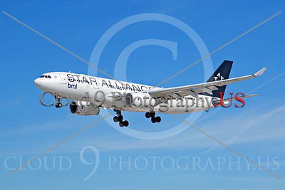 A330 00008 Airbus A330-200 BMI STAR ALLIANCE G-WWBD by Dave Budd
