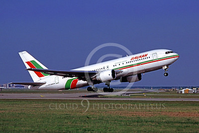 B767 00078 Boeing 767-200 Bulgarian Airlines 5 April 1998 by Matthias Becker