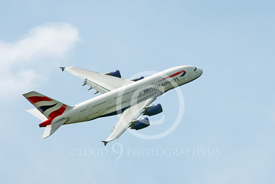 A380 00096 A flying, climbing, British Airways A380 F-WWSK super jumble jet airliner 2013 airliner picture by Stephen W D Wolf