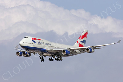 B747 00040 Boeing 747 British Airways by Peter J Mancus