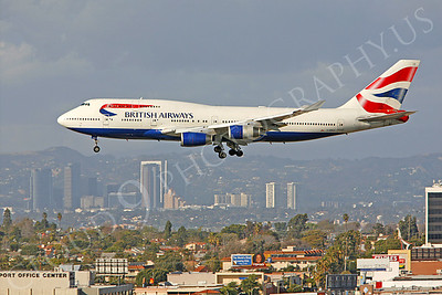 B747 00152 Boeing 747-400 British Airways G-BNLG by Peter J Mancus