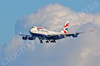 B747 00218 Boeing 747-400 British Airways by Peter J Mancus