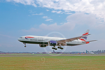 B777 00102 Boeing 777 British Airways August 2002 by Stephen W D Wolf