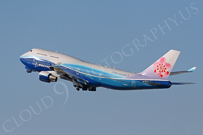 B747 00096 Boeing 747-400 China Airlines B-18210 by Tim P Wagenknecht