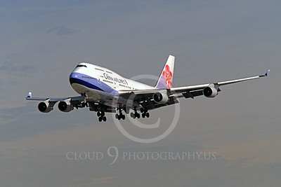B747 00048 Boeing 747-400 China Airlines March 1999 by Peter J Mancus
