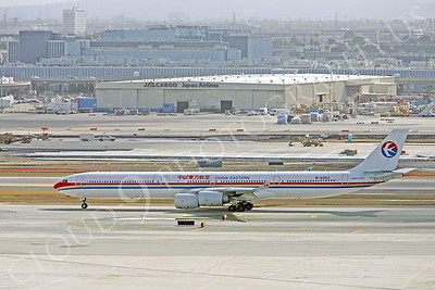 A340 00071 A340-600 China Eastern Airline B-6052 by Peter J Mancus
