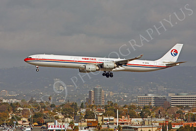 A340 00106 Airbus A340-600 China Eastern B-6052 by Peter J Mancus
