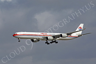 A340 00094 A340-600 China Eastern Airline by Peter J Mancus