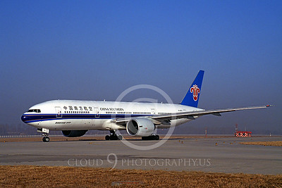 B777 00003 Boeing 777 China Southern B-2053 6 January 1998 by Peter J Mancus